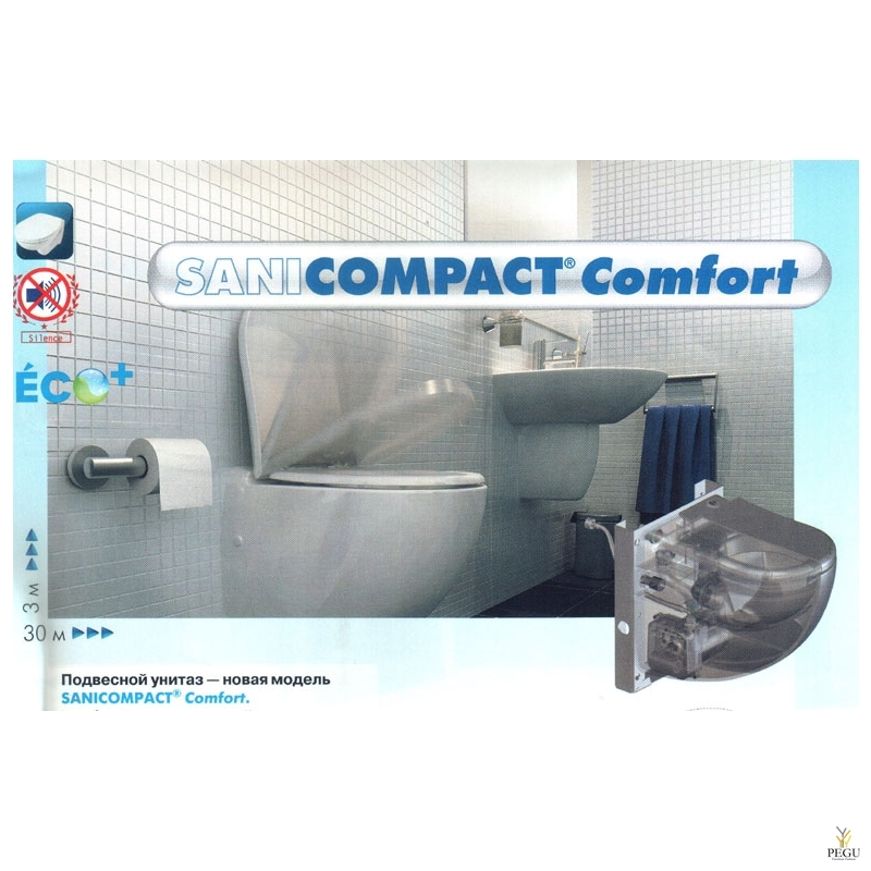 Sanicompact Comfort (  WC+valamu )