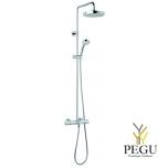 Damixa Idona комплект верхний душ 200mm, ручной душ,Thermixa 400 термостат