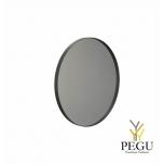 Зеркало Frost UNU с рамой , d1000mm чёрное