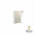 Peegel Frost UNU raamiga , 400x400 valge