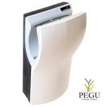 Электрический рукосушитель Dualflow PLUS, сенсор, белый ABS