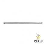 Душевая палка для шторки,  Н/Р сталь. 120-220 cm