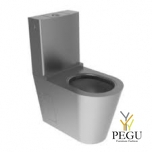 Roostevaba teras WC pott Monobloco 0021, R/V AISI304 matt
