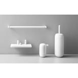 Аксессуары для ванной комнаты D Line Pebble Н/Р сталь, матовый чёрный, матовый белый