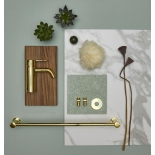 Аксессуары для ванной комнаты Damixa Silhouet полированная латунь (золото) PVD