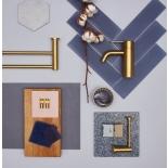 Аксессуары для ванной комнаты Damixa Silhouet матовая латунь (золото) PVD