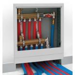 Põrandakütte kollektorikapid-paigalduskastid