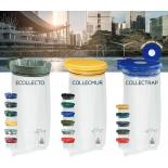 Держатели для сортировочных мусорных пакетов COLLEC ( ECOLETTO, COLLECMUR, COLLECTRAP )