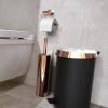 Frost NOVA2 vannitoa aksessuaarid roostevabast terasest, poleeritud vase viimistlusega
