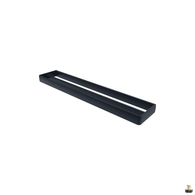 Haceka Aline держатель для полотенца 2-й 60cm металл , чёрный