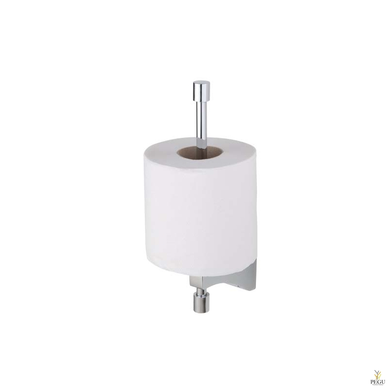 Art Deco держатель для запасных рулонов туалетной бумаги, хром