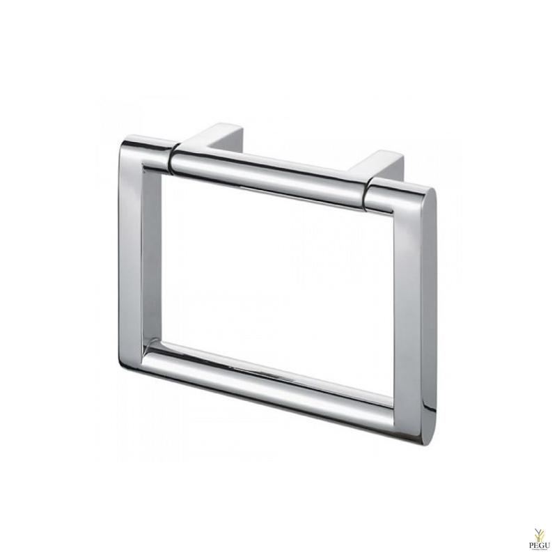 Viero вешалка-кольцо под банное полотенце, полированная Н/Р сталь