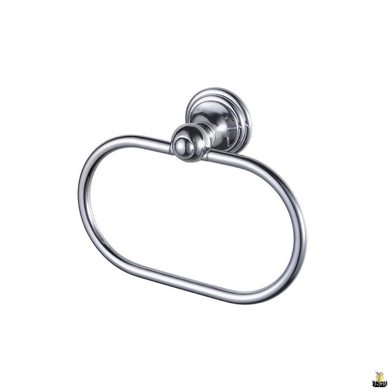 Haceka Allure кольцо держатель для банного полотенца. Хром