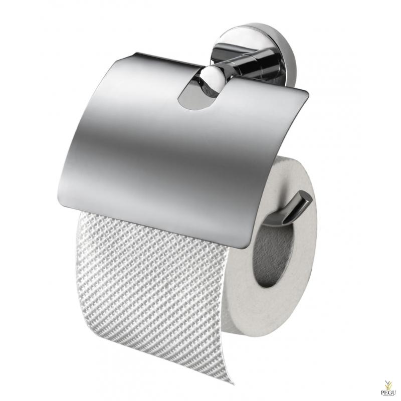 Haceka Kosmos держатель для туалетной бумаги с клапаном. хром