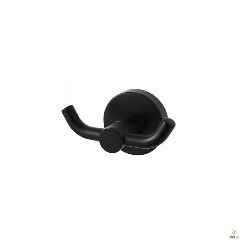 Haceka Kosmos крючок двойной, чёрный