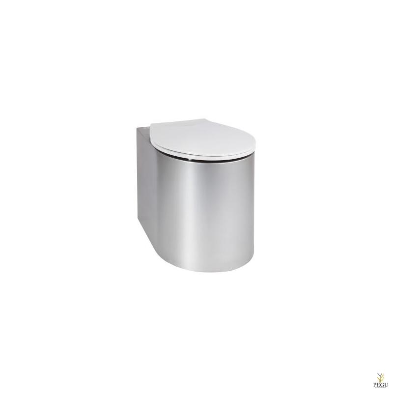 Антивандальный унитаз Н/Р сталь