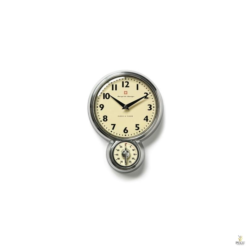 Настенные часы с таймером 60 минут