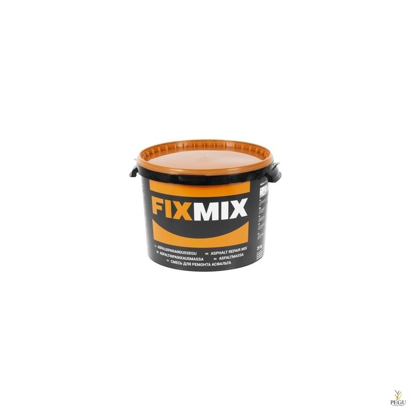 FIXMIX asfaldi parandussegu/remondimass 20 kg ämber