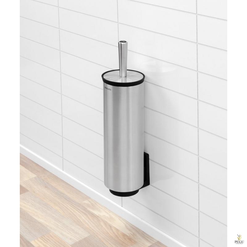 Туалетная щётка настенная PROFILE Brabantia 427183 матовая сталь