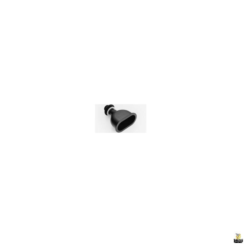Tilgatops, väike ümargune, must