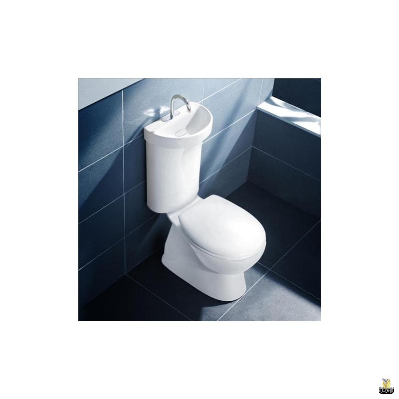 CAROMA Profile tualetioptt koos integreeritud kranikausiga tagajooksuga