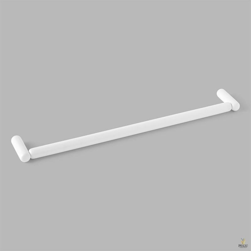 D Line Pebble käterätikuhoidja 450mm matt valge