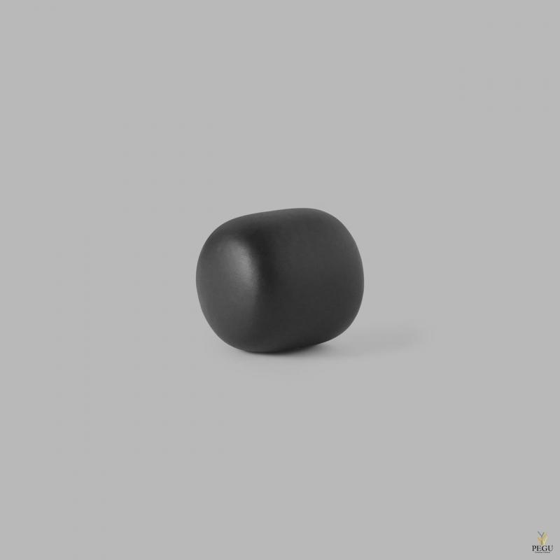 D Line Pebble крючёк для халата S матовый чёрный