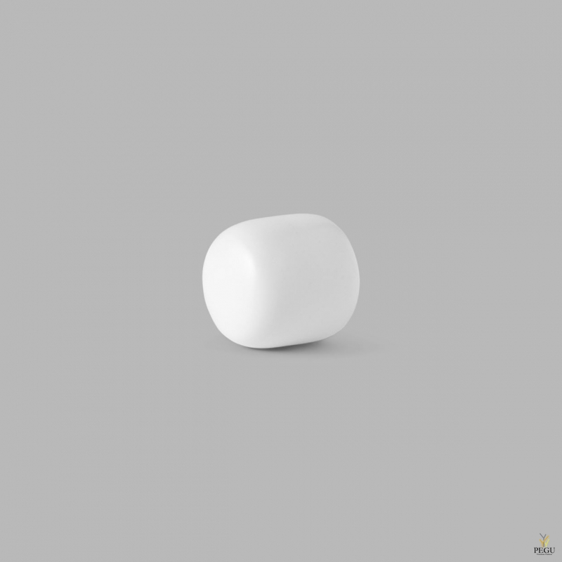 D Line Pebble крючёк для халата S матовый белый