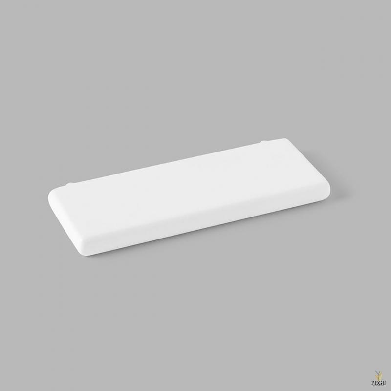 D Line Pebble vannitoa duširiiul 250mm matt valge