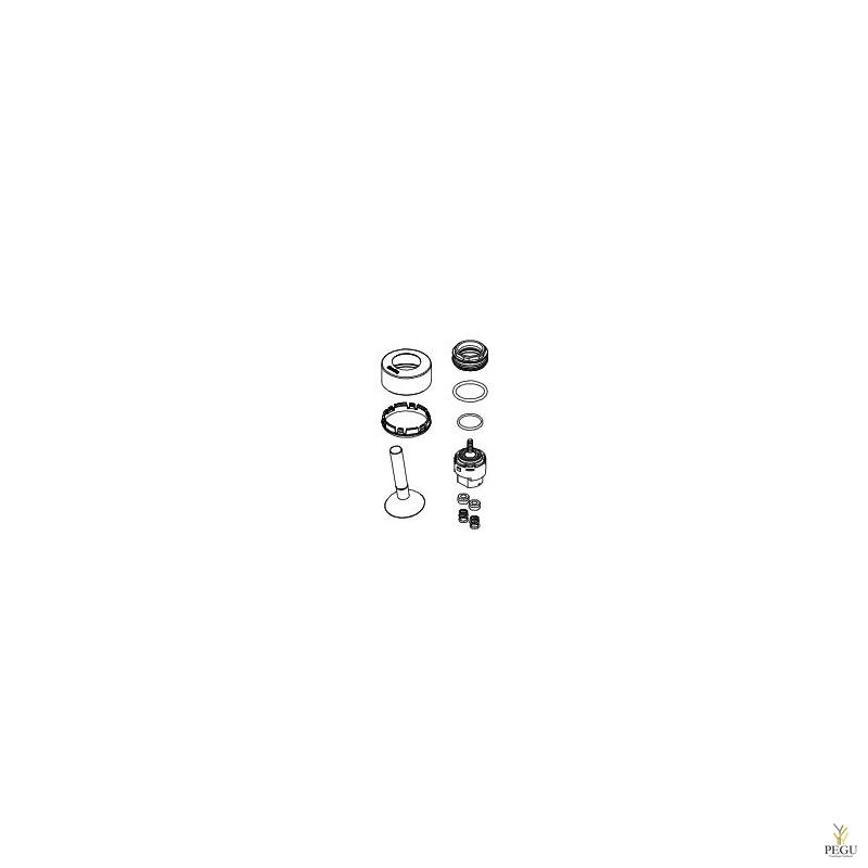 ARC ремонтный комплект с картриджем. хром/серый