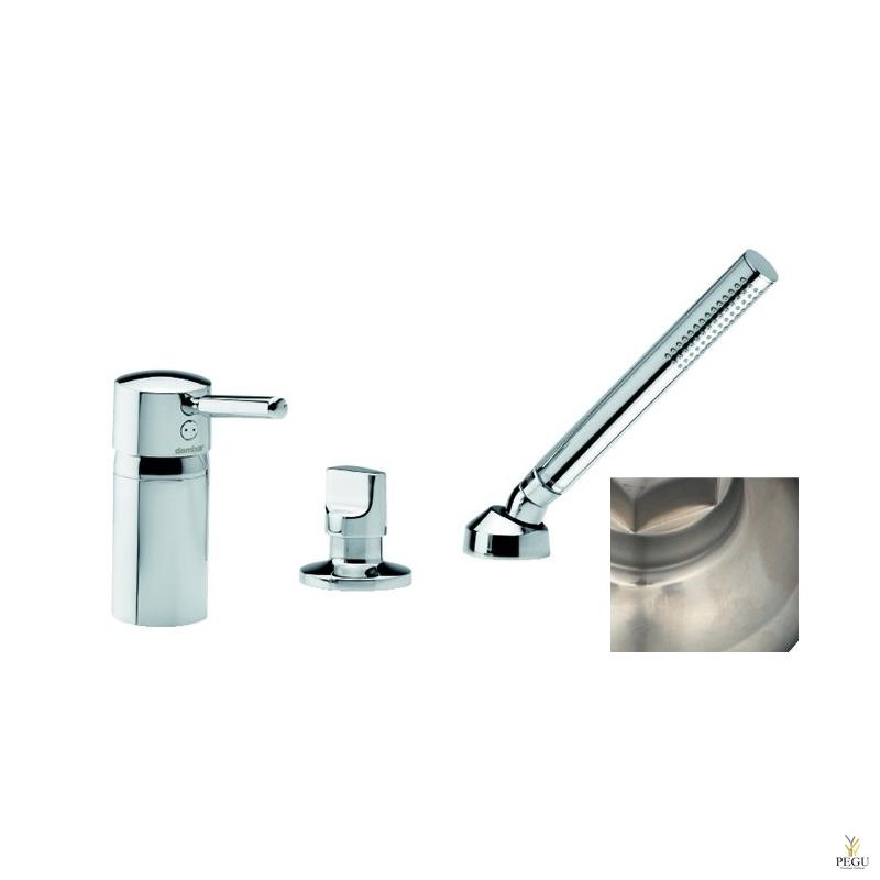 Merkur смеситель на ванну , 3-компонентный, покрытие сталь, Распродажа !
