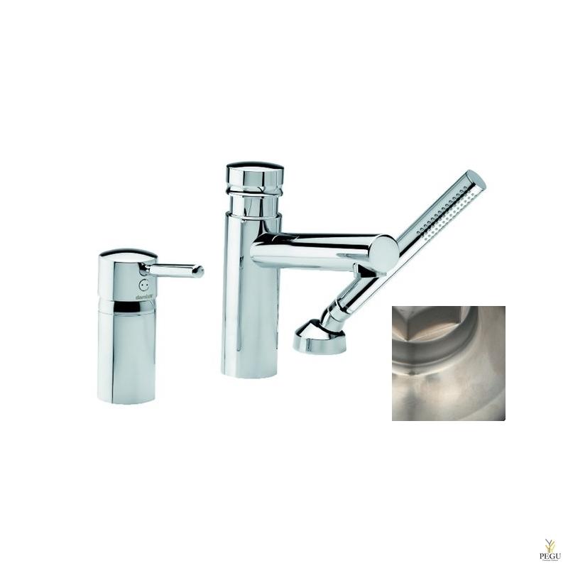Merkur смеситель на ванну с носиком, 3-компонентный, покрытие сталь , Распродажа !