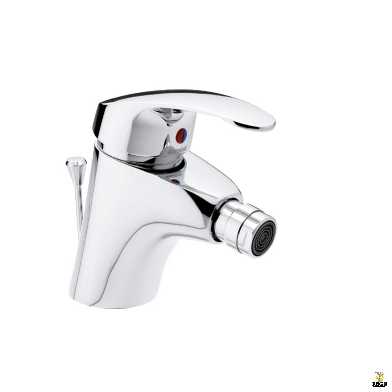 Damixa Lyra смеситель на биде, с клапаном. Хром
