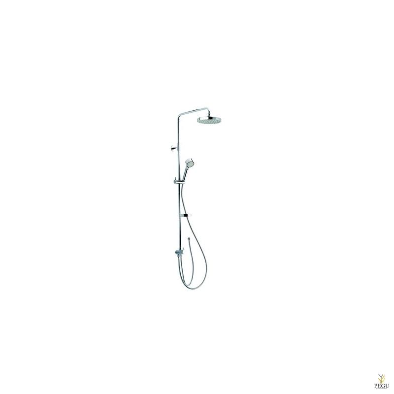 Damixa Kudos Complete 2 душевой комплект, душевая головка на штанге, ручной душ, хром