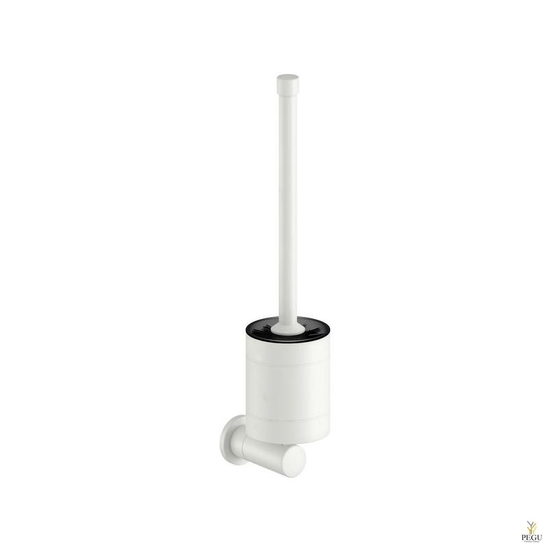 Damixa Silhouet Damixa Silhouet щётка с креплением для туалета матовый белый