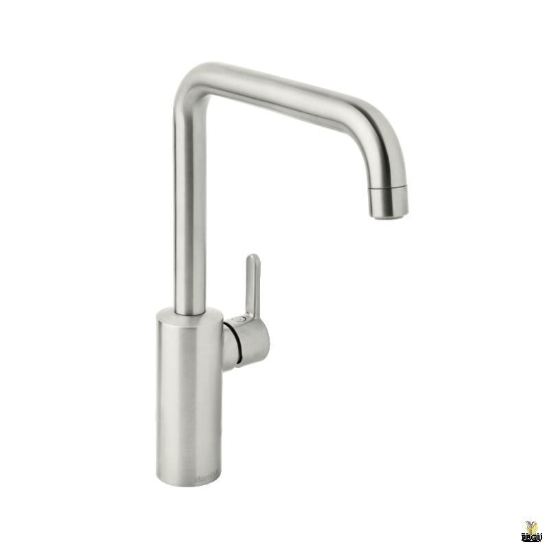 Damixa Silhouet кухонный смеситель сталь (PVD)