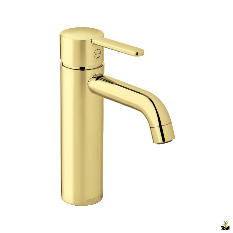 Damixa Silhouet смеситель для раковины - MEDIUM ,  золотой