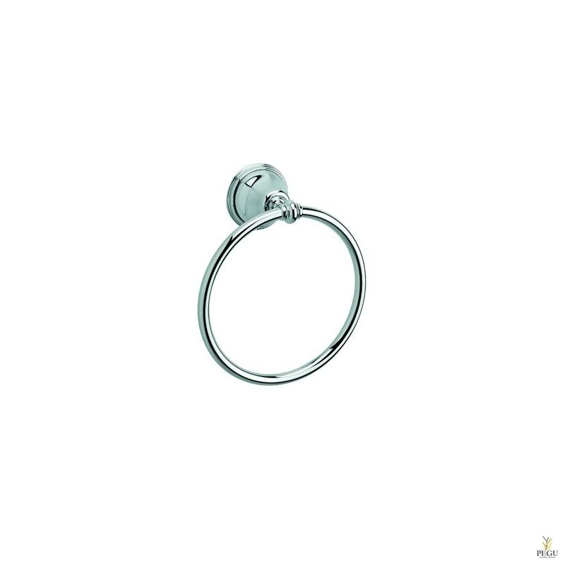 Tradition кольцо для полотенца, хром
