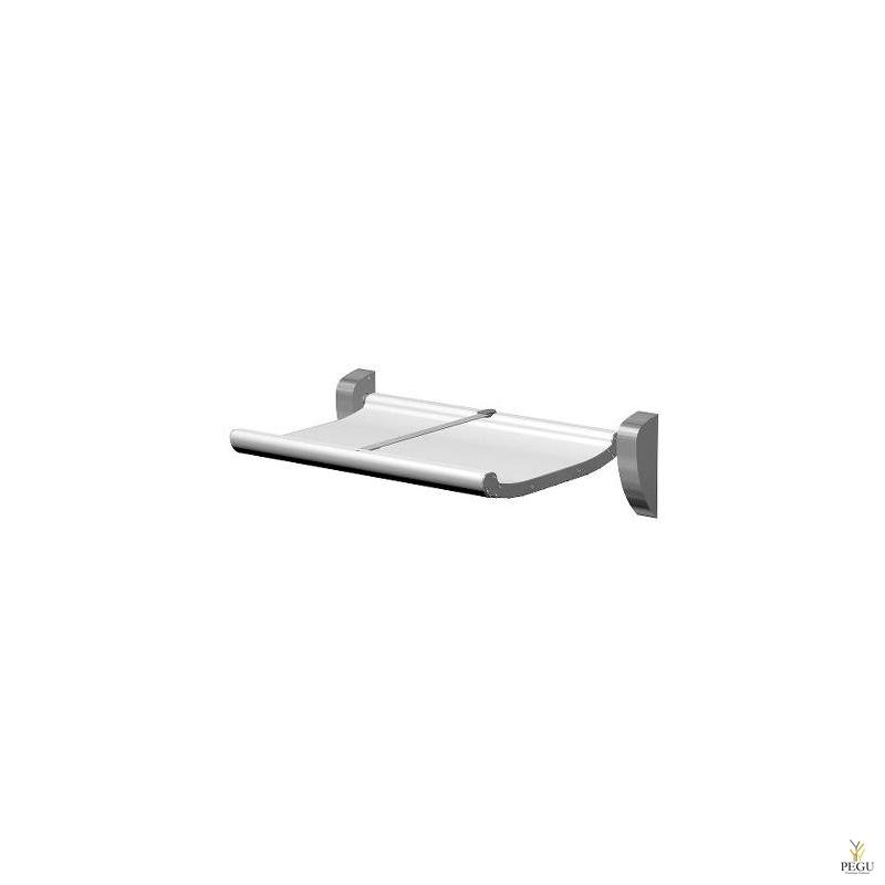 Mähkimislaud Dan Dryer art.659, valge aluminium, R/V teras