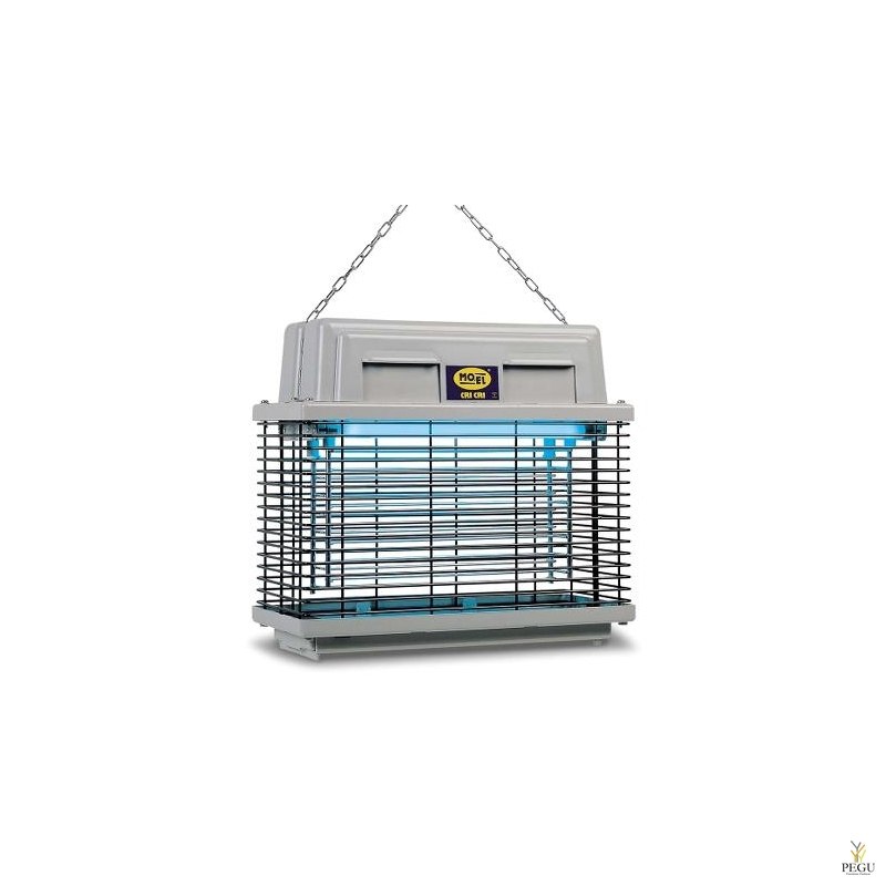 Лампа для уничтожения насекомых, 309-INSECT KILLER CRI CRI, ACTION RANGE OF 10-12 M