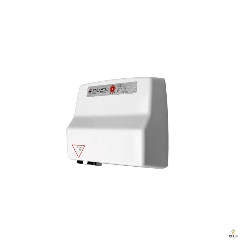 Рукосушитель Dan Dryer AA Art.100, белый, алюминий, 230V,  50/60Hz, 2360W