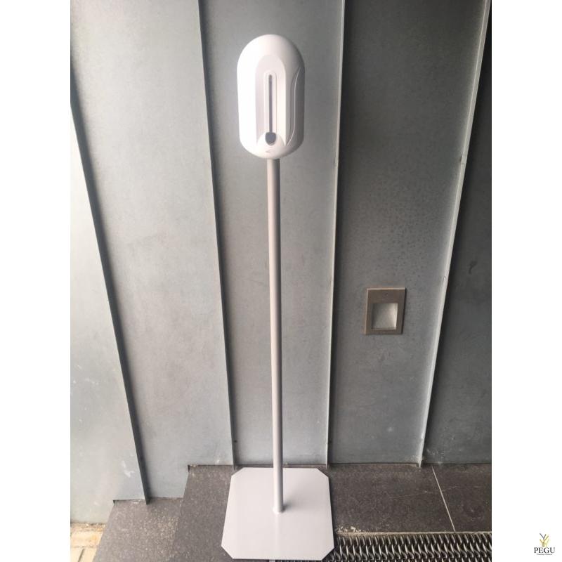 Desinfektandi dosaator Elegance 1.1L (pattarei), valge plastik koos pulb.värvitud jalaga