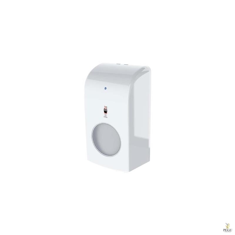 Дозатор для жидкой пены EcoFoam 1L (на батарейках), белый пластик