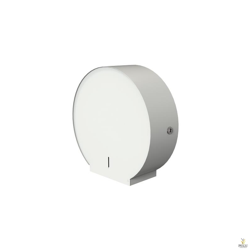WC paberihoidja BJÖRK 1 JUMBO+1 standart roll valge