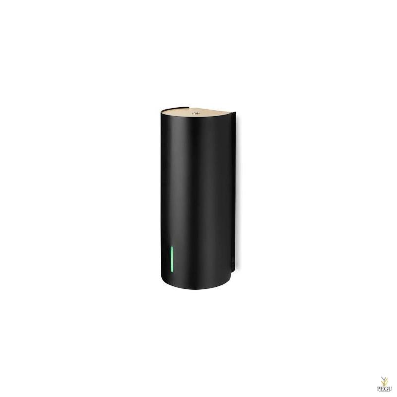 Дозатор для мыла бесконтактный BJÖRK, чёрный-BIRCH верх