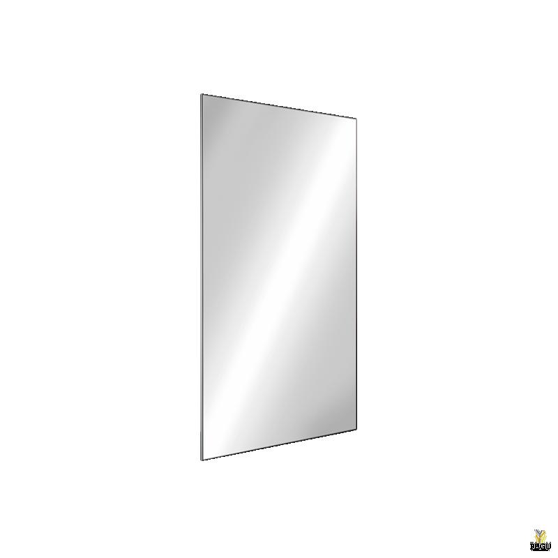 Антивандальное зеркало Н/Р сталь 385x485 AISI304