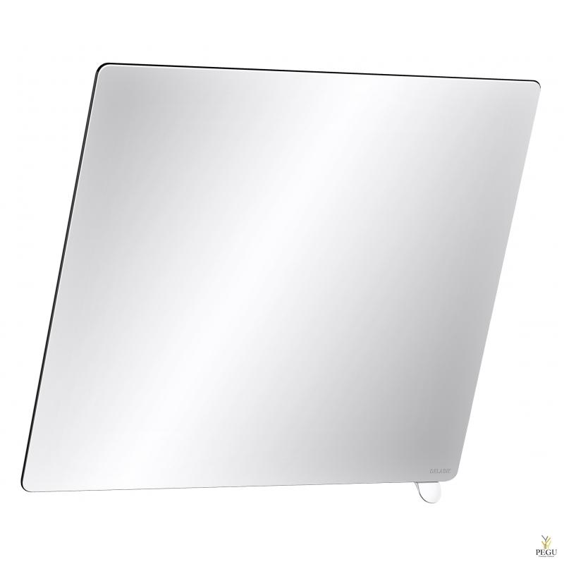 Delabie Be-line зеркало с регулировкой угла наклона 600x500 ручка матовый белый
