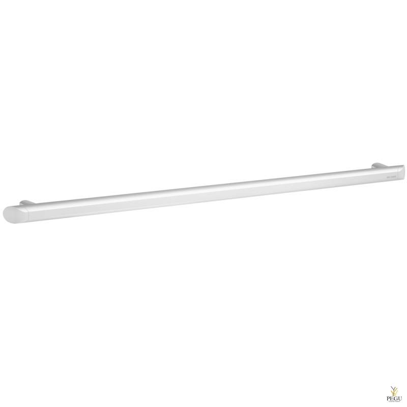 Delabie Be-line инвалидная ручка d35MM L900mm белый матовый алюминий