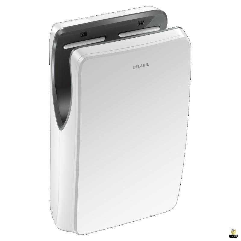 Рукосушитель Delabie SPEEDJET 2 , с сенсором белый ABS 10-12 сек