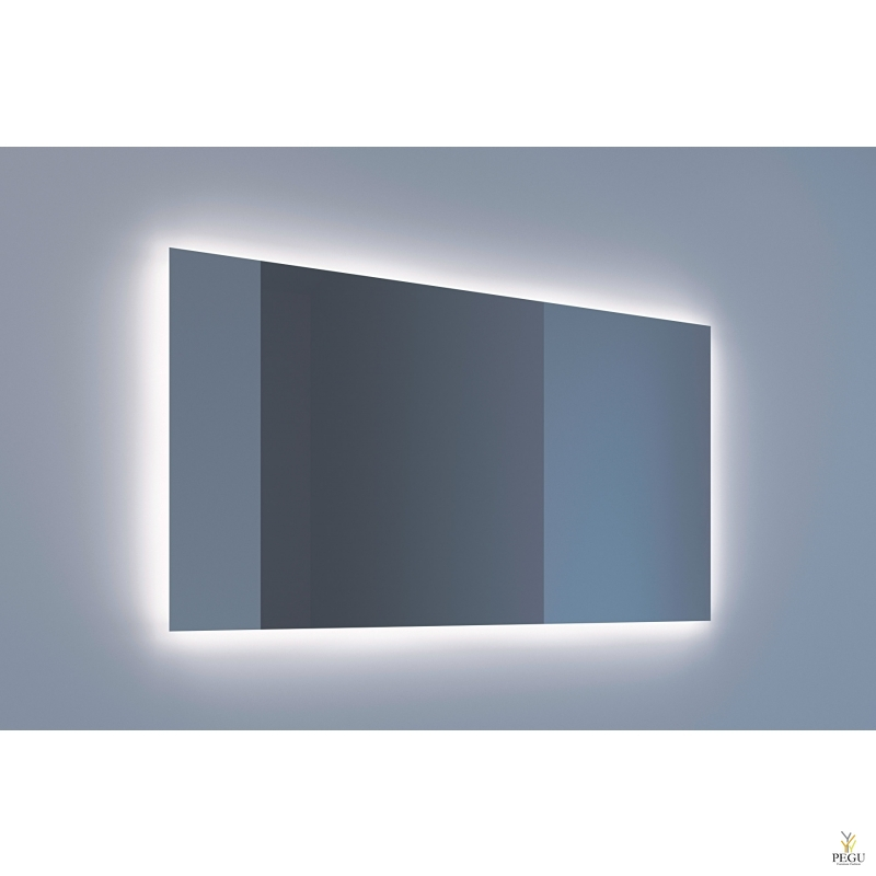 Eumar зеркало Ambi Quatro 140x80 с LED подсветкой